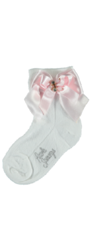 Piccola Speranza Girls Bow Socks
